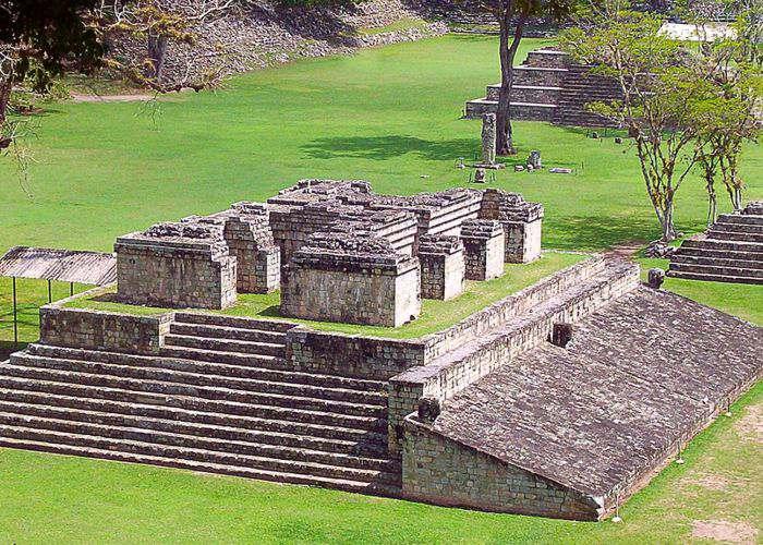 Las ruinas de copan en honduras arquitectura maya en for Civilizacion maya arquitectura