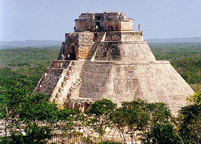 Origen de Uxmal Ciudad de los Mayas México