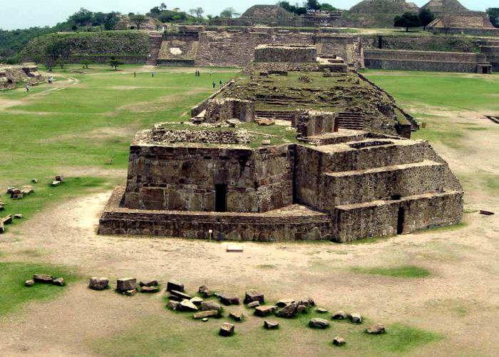 Patrimonio de la Humanidad de Mexico Monte Alban