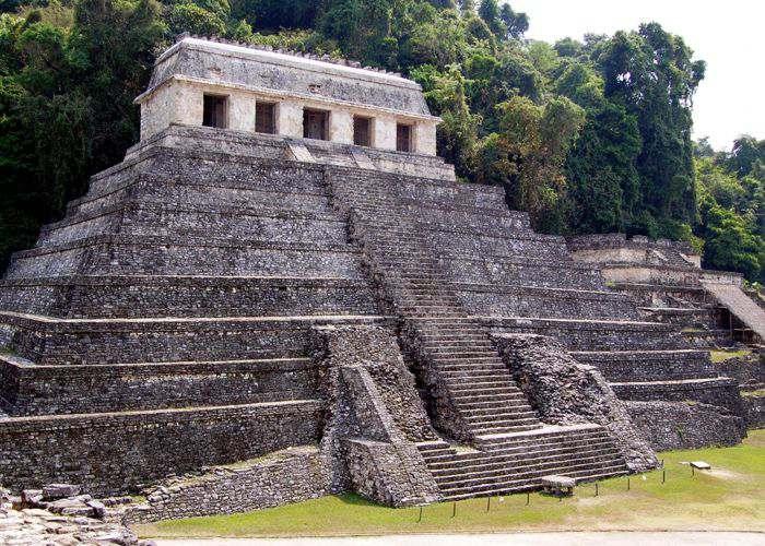 Ruinas de Palenque Restos de la Civilizacion Maya Observatorio
