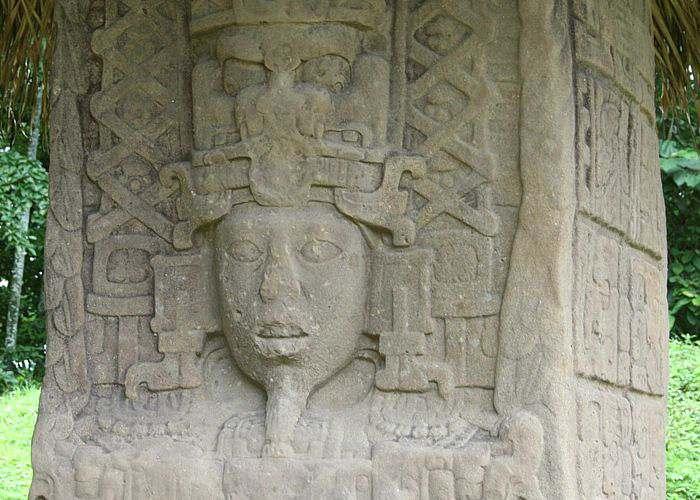 Decadencia de los Mayas Quirigua Ciudad de las Estelas