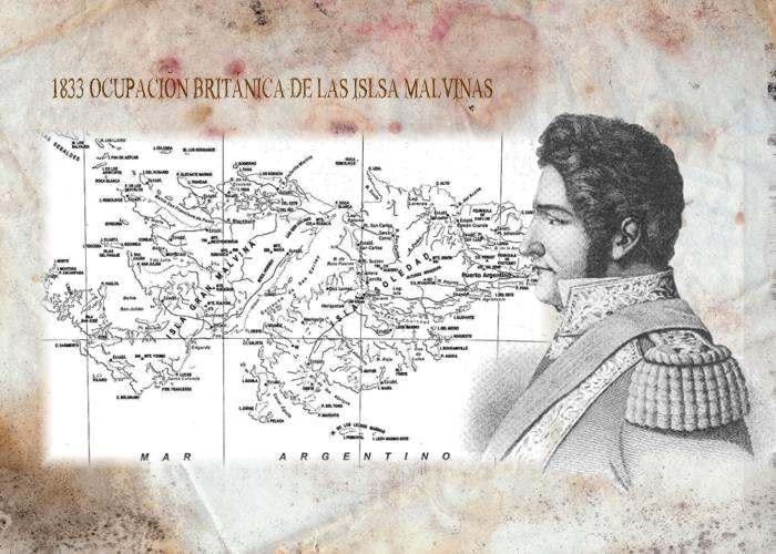 ocupacion ilegal  de la islas malvinas