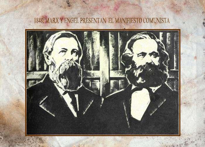 Manifiesto Comunista de Marx y Engel Socialismo de Marx Partido ...