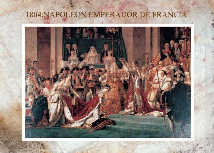 1804:coronacion de napoleon