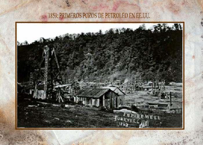 Primeros Pozos de Petroleo en EE.UU. y Primeros Usos:Aceite Seneca