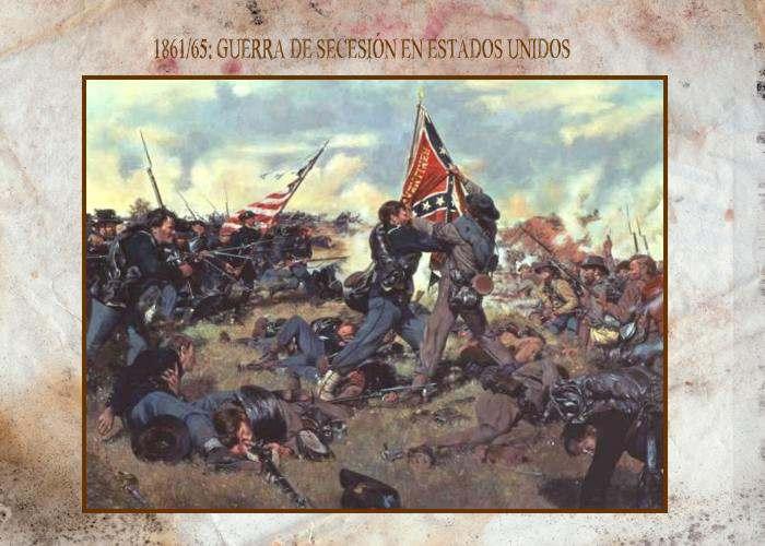 Causas de la Guerra de Secesión en Estados Unidos