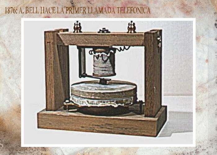 Primera Llamada Telefónica de la Historia
