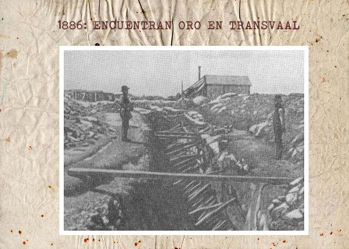 Historia del Descubrimiento de Oro en Transvaal Sudafrica