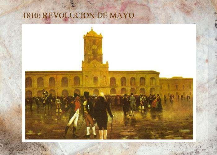Revolucion de Mayo y el plan de operaciones de mariano moreno