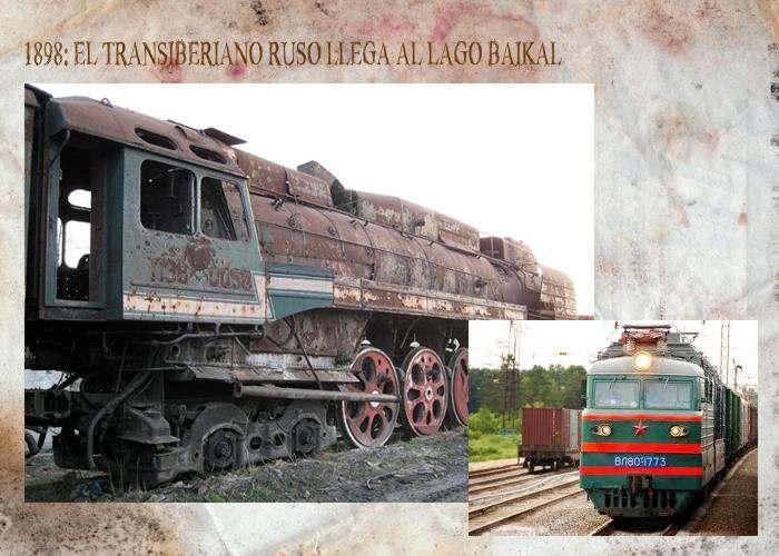 Tren Transiberiano en rusia