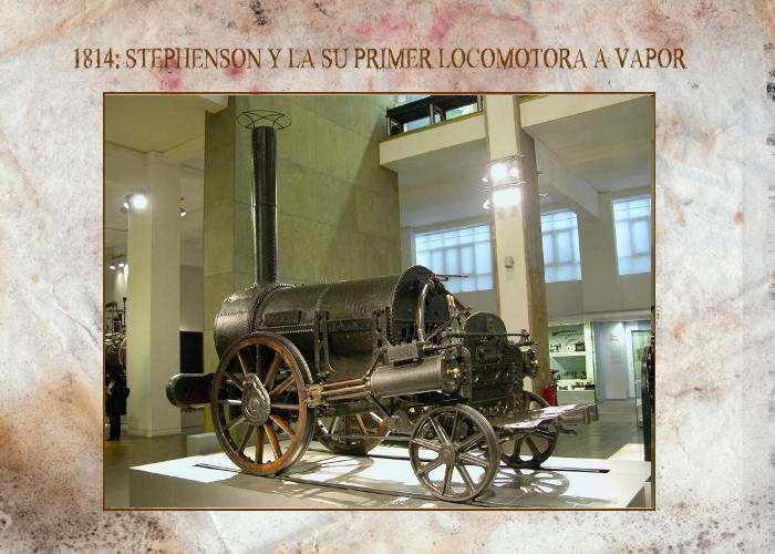La Primera Locomotora a Vapor de Agua Historia del Transporte