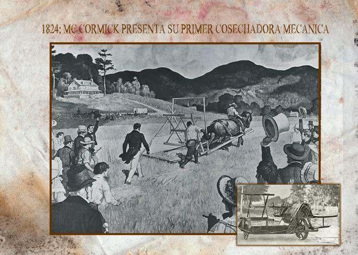 La Primer Cosechadora Mecánica de McCormick Historia
