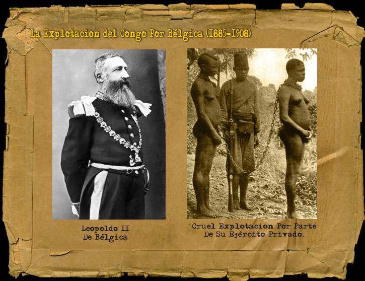LEOPOLDO II EN EL CONGO BELGA