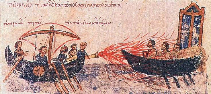 El Fuego Griego Historia de las Armas