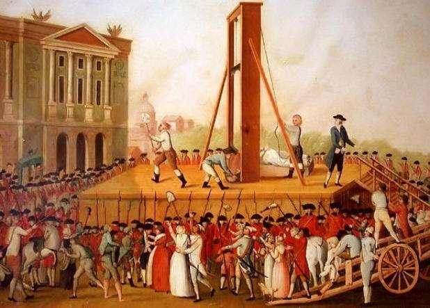 Resultado de imagem para guillotina