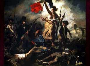 pintura de la libertad