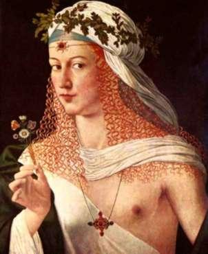 Biografia de Lucrecia Borgia Hija de Alejandro VI Papa Historia ...