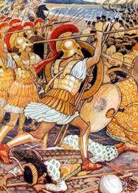 Batalla de Maraton Grecia contra Persia R