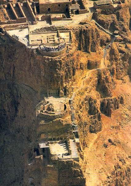 Historia de Masada Fortaleza del Rey Herodes Suicidio de Judios