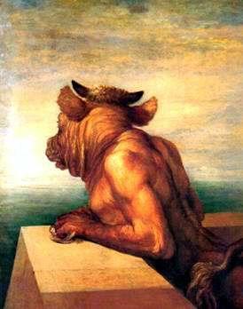 Leyenda del Minotauro Teseo Adriana