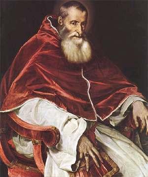 Papa Pablo III Poder y Riquezas de la Iglesia