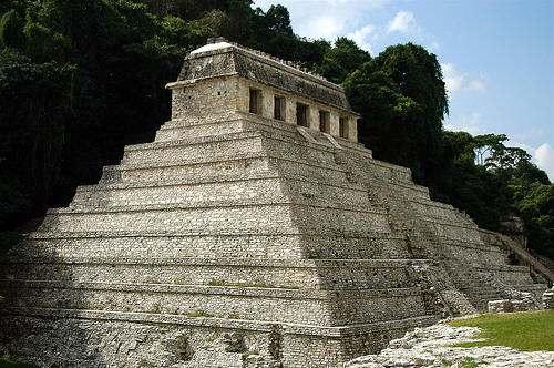 Ruinas de Palenque Tumba Sagrada Maya del Rey Pakal Perdida en la Selva