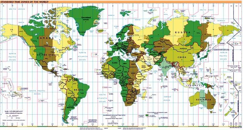 Meridianos y Paralelos de laTierra Concepto Latitud y Longitud