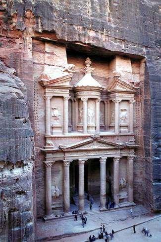 Petra ciudad de Piedra Jordania