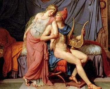 Leyenda del Rapto de Helena por Paris,Causa Guerra de Troya