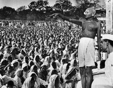 Gandhi, desobediencia civil