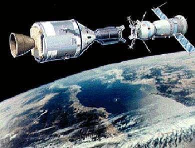 Misión Espacial Soyuz: Apolo