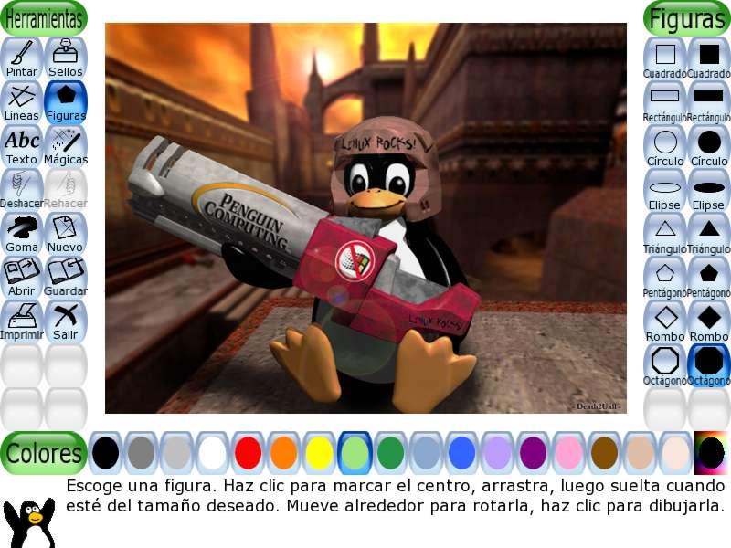 Tux paint descargar gratis software para dibujar y colorear - Programas para pintar en el ordenador ...