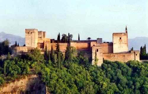 Historia de la Alhambra de Granada: Ubicacion y Caracteristicas