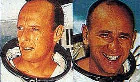 astronautas que pisaron la luna - Charles Conrad Jr. - Alan L. Bean