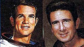 astronautas que pisaron la luna - David R. Scott y James B. Irwin