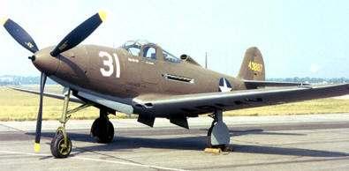 "CAZA DELL ""AIRCOBRA"" P-39 armas de la segunda guerra mundial"