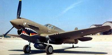 "CURTISS P-40:""TIGRE VOLADOR"""