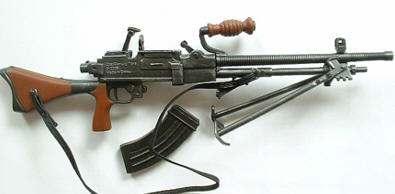 AMETRALLADORA JAPONESA NAMBU: armas de la segunda guerra mundial