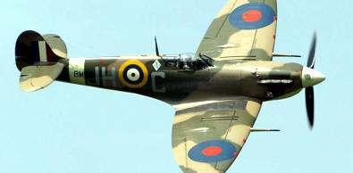 Supermarine Spitfire armas de la segunda guerra mundial