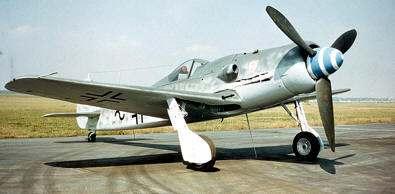 Caza Alemán Focke Wulf Fw - 190