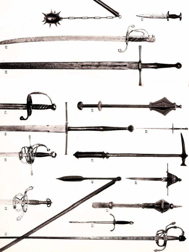 Armas Que Usaban Los Caballeros Medievales Torneos Edad Media