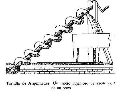 TORNILLO DE AGUA