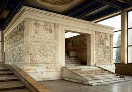 aAquitectura romana, ARA PACIS AUGUSTAE (Altar de la paz de Augusto)