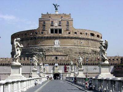 arquitectura romana CASTILLO SANT´ANGELO