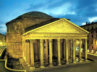 PANTEÓN arquitectura romana