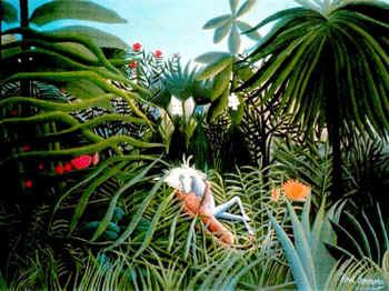 Pintores del Arte Naif Henri Rousseau