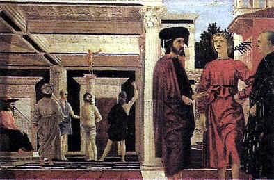 """artistas del renacimiento""""Flagelación de Jesús"""""""