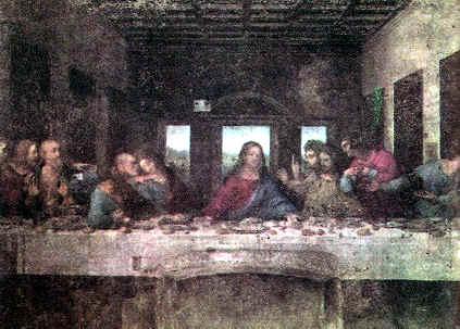 """artistas del renacimiento """"La Última Cena"""""""