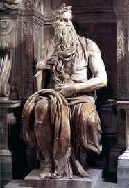 Moisés, en San Pietro in Vincoli. Roma.
