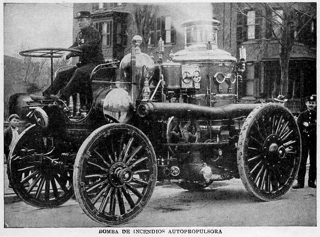 Bomba de incendio autopropulsora